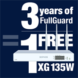 Sophos XG 135W Appliance FREE with purchase of 3 Year FullGuard Bundle