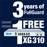 Sophos XG 310 Appliance FREE with purchase of 3 Year FullGuard Bundle