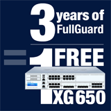 Sophos XG 650 Appliance FREE with purchase of 3 Year FullGuard Bundle