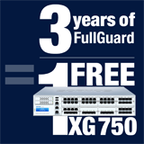 Sophos XG 750 Appliance FREE with purchase of 3 Year FullGuard Bundle