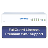 Sophos SG 105 Rev 3 Firewall TotalProtect Bundle with 4 GE ports, FullGuard License, Premium 24x7 Support - 1 Year