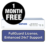 Sophos SG 105 Rev 3 Firewall TotalProtect Bundle - 1 Year + 1 Month FREE
