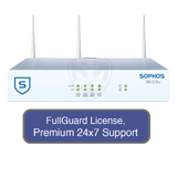 Sophos SG 115w Rev 2 Wireless Appliance TotalProtect Bundle with 4 GE ports, FullGuard License, Premium 24x7 Support - 1 Year