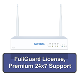 Sophos SG 115w Rev 3 Wireless Appliance TotalProtect Bundle with 4 GE ports, FullGuard License, Premium 24x7 Support - 1 Year