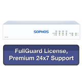 Sophos SG 115 Rev 3 Security Appliance TotalProtect Bundle with 4 GE ports, FullGuard License, Premium 24x7 Support - 1 Year