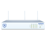 Sophos SG 125w Rev 2 Wireless Firewall with 8 GE ports, HDD + Base License for Unlimited Users (Appliance Only)