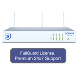 Sophos SG 125w Rev 2 Wireless Firewall TotalProtect Bundle with 8 GE ports, FullGuard License, Premium 24x7 Support - 3 Years