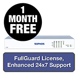 Sophos SG 125 Rev 3 Security Appliance TotalProtect Bundle - 1 Year + 1 Month FREE
