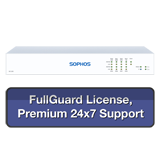 Sophos SG 135w Rev 3 Wireless Firewall TotalProtect Bundle with 8 GE ports, FullGuard License, Premium 24x7 Support - 3 Year