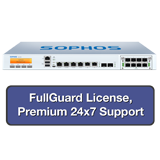 Sophos SG 230 Rev 2 Security Appliance TotalProtect Bundle with 6 GE ports, FullGuard License, Premium 24x7 Support - 1 Year