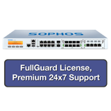 Sophos SG 430 Rev 2 Security Appliance TotalProtect Bundle with 8GE ports, FullGuard License, Premium 24x7 Support - 1 Year