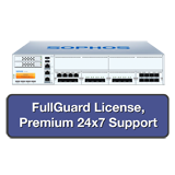Sophos SG 550 Security Appliance TotalProtect Bundle with 8 GE ports, FullGuard License, Premium 24x7 Support - 3 Years