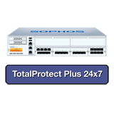 Sophos SG 550 Security Appliance TotalProtect Plus Bundle with 8 GE ports, FullGuard License, Premium 24x7 Support - 1 Year