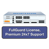 Sophos SG 650 Security Appliance TotalProtect Bundle with 8 GE ports, FullGuard License, Premium 24x7 Support - 2 Years