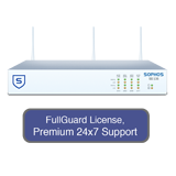 Sophos SG 135w Rev 2 Wireless Firewall TotalProtect Bundle with 8 GE ports, FullGuard License, Premium 24x7 Support - 1 Year