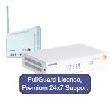 Sophos UTM 110/120 Firewall TotalProtect 100 WiFi Bundle w/ FullGuard 100 Subscription, AP10 & 24x7 Premium Support - 1 Year