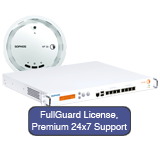 Sophos UTM 220 Firewall TotalProtect 220 WiFi Bundle with FullGuard Subscription, AP30 and 24x7 Premium Support - 1 Year