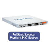 Sophos SG 450 Security Appliance TotalProtect Bundle with 8 GE ports, FullGuard License, Premium 24x7 Support - 1 Year
