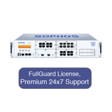 Sophos SG 650 Security Appliance TotalProtect Bundle with 8 GE ports, FullGuard License, Premium 24x7 Support - 1 Year