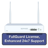 Sophos XG 105W Rev 2 Wireless Firewall TotalProtect Bundle with 4 GE ports, FullGuard License, 24x7 Support - 1 Year