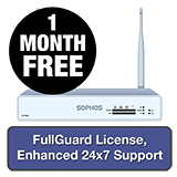 Sophos XG 105W Rev 3 Wireless Firewall TotalProtect Bundle - 1 Year + 1 Month FREE