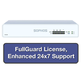 Sophos XG 105 Rev 2 Firewall TotalProtect Bundle with 4 GE ports, FullGuard License, 24x7 Support - 1 Year