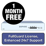 Sophos XG 105 Rev 3 Firewall TotalProtect Bundle - 1 Year + 1 Month FREE