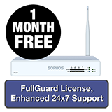 Sophos XG 115W Rev 3 Wireless Firewall TotalProtect Bundle - 1 Year + 1 Month FREE