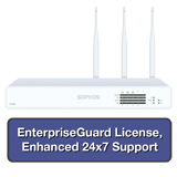 Sophos XG 125 Rev 3 Firewall EnterpriseProtect Bundle w/ 8 GE ports, EnterpriseGuard License, 24x7 Support - 1 Year