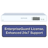 Sophos XG 125 Rev 2 Firewall EnterpriseProtect Bundle w/ 8 GE ports, EnterpriseGuard License, 24x7 Support - 1 Year