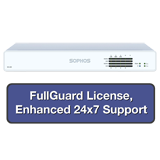Sophos XG 125 Rev 2 Firewall TotalProtect Bundle with 8 GE ports, FullGuard License, 24x7 Support - 1 Year