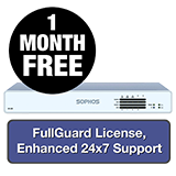 Sophos XG 125 Rev 3 Firewall TotalProtect Bundle - 1 Year + 1 Month FREE