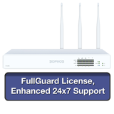 Sophos XG 135W Wireless Firewall TotalProtect Bundle with 8 GE ports, FullGuard License, 24x7 Support - 1 Year