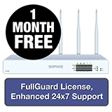Sophos XG 135W Rev 3 Wireless Firewall TotalProtect Bundle - 1 Year + 1 Month FREE