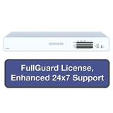 Sophos XG 135 Firewall TotalProtect Bundle with 8 GE ports, FullGuard License, 24x7 Support - 1 Year