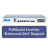 Sophos XG 210 Rev 3 Firewall TotalProtect Bundle with 6 GE ports, FullGuard License, 24x7 Support - 1 Year