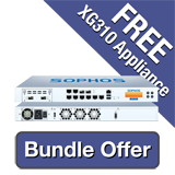 Sophos XG 310 Firewall TotalProtect Bundle - 3 Years including a FREE XG 310 Firewall