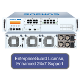 Sophos XG 550 Next-Gen Firewall EnterpriseProtect Bundle-8x GbE FleXi Port Module,  EnterpriseGuard License, 24x7 Support -1 Yr