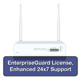 Sophos XG 85W Rev 1 Wireless Firewall EnterpriseProtect Bundle w/ 4 GE ports, EnterpriseGuard License, 24x7 Support - 2 Years