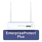 Sophos XG 85W Rev 1 Wireless Firewall EnterpriseProtect Bundle w/ 4 GE ports, EnterpriseGuard License, 24x7 Support - 1 Year