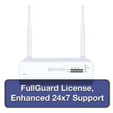 Sophos XG 85W Rev 1 Wireless Firewall TotalProtect Bundle with 4 GE ports, FullGuard License, 24x7 Support - 1 Year