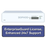 Sophos XG 85 Next-Gen Firewall EnterpriseProtect Bundle with 4 GE ports, EnterpriseGuard License, 24x7 Support - 1 Year
