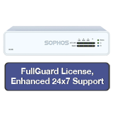 Sophos XG 85 Firewall TotalProtect Bundle with 4 GE ports, FullGuard License, 24x7 Support - 1 Year
