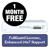 Sophos XG 85 Rev 3 Firewall TotalProtect Bundle - 1 Year + 1 Month FREE