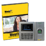 Wasp Barcode WaspTime Biometric Standard Edition - Biometric Time and Attendance System with B2000 Biometric Employee Time Clock