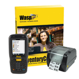 Wasp Barcode Inventory Control RF Standard - Inventory Tracking Solution with DT60 (Numeric) & WPL305 - 1 User