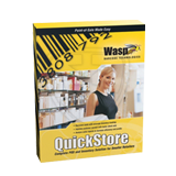 Wasp Barcode QuickStore Point of Sales Standard Software