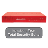 WatchGuard Firebox T15-W (Wireless) Firewall with 1-Year Total Security Suite - 400 Mbps Firewall, 150 Mbps VPN, 90 Mbps UTM
