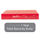 WatchGuard Firebox T15 with 1-Year Total Security Suite - 400 Mbps Firewall, 150 Mbps VPN, 90 Mbps UTM