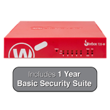 WatchGuard Firebox T35-W with 1-Year Basic Security Suite - 940 Mbps Firewall, 560 Mbps VPN, 278 Mbps UTM